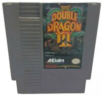Double Dragon III 3 The Sacred Stones Nintendo Nes Cleaned & Tested Authentic