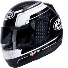 Arai Quantum-ST ACU Pro Black/WHITE MOTORCYCLE HELMET-XL-BARGAIN-EX DISPLAY