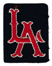 "1961-64 LOS ANGELES ANGELS MLB BASEBALL VINTAGE 2.25"" HAT LOGO DEFUNCT PATCH"