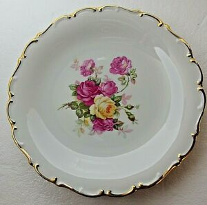 "11.75"" SCHUMANN ARZBERG Germany WILD ROSE Serving Platter Plate Bavaria"