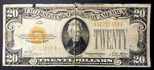 1928 Twenty Dollars Gold Certificate! Hard to find!