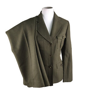 EVAN PICONE Women Mismatched Dark Green Pant (size 10P) Suit (Size 10)