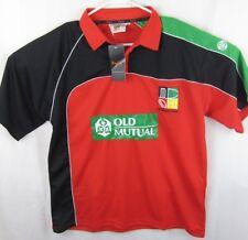 NWT Zimbabwe Cricket Shirt Jersey Top Jumper Big Cat Licensed Sz M Polo