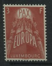 Luxembourg 3f Europa stamp mint o.g. hinged
