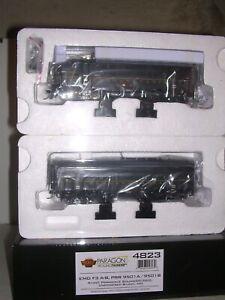 B.L.I. #4823 P.R.R. EMD F3A&B Diesel Locos #9501A&B w/DCC & Par.3 Sound 1/87
