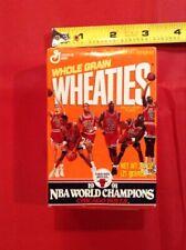 1991 Michael Jordan Chicago Bulls NBA Champions Mini Wheaties Box Sealed