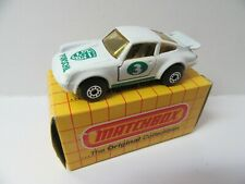 Matchbox Superfast 3c Porsche 911 Turbo - White No.3 - Mint/Boxed