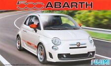 Fiat 500 Abarth 1:24 Plastic Model Kit FUJIMI