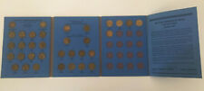 More details for whitman gb threepence (3d) brass collection folder 1937 - 1967 (complete)