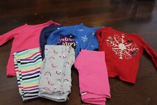 Girl Size 6 Long Sleeve Knit Shirts Winter and Leggings Outfit Carter's Unicorn