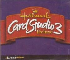 Hallmark Card Studio 3 Deluxe PC CD design print personalized greeting projects