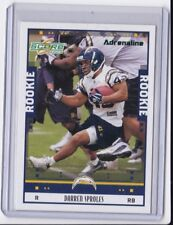 2005 Score Darren Sproles Adrenaline rookie insert card /399