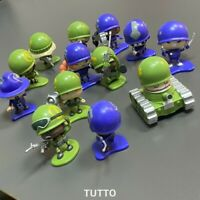 Random 5x Awesome Little Green Men Blue Army Blue Army Series 1 Kids Toys Gift