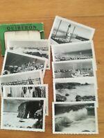 ancienne pochette 10 photos - Quiberon - années 50