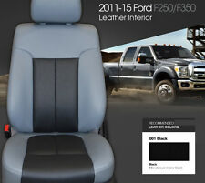 FORD F150/250 SUPERCREW/SUPERCAB P/UP 2015-2017  LEATHER INTERIOR KIT-ALL COLORS