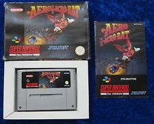 Aero the Acro Bat, NEUF dans sa boîte Instructions, SNES, Super Nintendo jeu