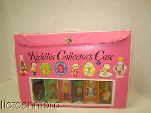 VINTAGE LIDDLE KIDDLES COLLECTORS CASE & DOLLS LOT