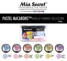 Mia Secret Pastel Macarons Powder Collection 6 pc Nail art * Authentic Brand *