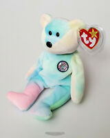 🚦Ty Beanie Baby/Babies B.B. BEAR - Birthday - NEW - MWMT