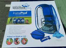 INSTAPOD Pop Up Sports Pod Block Wind Lightweight with Carry Case.