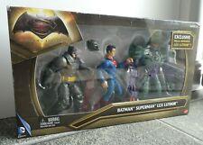 Batman vs Superman & Lex Luther - 3 action figure set