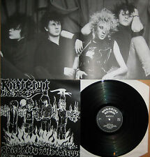 MINT Vinyl LP Riistetyt - Raped Future Rock o Rama LP mit Poster oi punk KDB