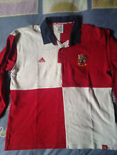 camisetas jersey shirt maillot British Lions ADIDAS ENGLAND rugby L