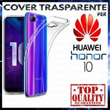 COVER per HUAWEI HONOR 10 Custodia Trasparente Morbida Silicone Ultra Slim TPU
