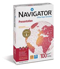 10000 Blatt NAVIGATOR 100g/m² Presentation A3 Papier Druckerpapier Premiumpapier