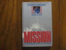 "Sen. BILL NELSON(Columbia STS-61-C)Signed Book(""MISSION""-1988 1st Edit. Hardback"