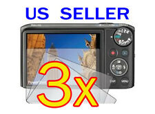 3x Canon PowerShot SX260 HS Camera LCD Screen Protector Cover Guard Shield