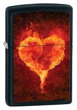 Zippo Flaming Heart, 28313, +Wick +Flints