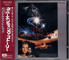 The Never Ending Story Limahl OST JAPAN 1st Press CD 1985 CP32 Black Triangle