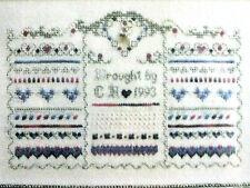 Treasures of the Heart No. 3 - Band Sampler Chart  - Charland Designs