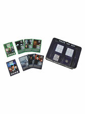 NEW BBC Dr Doctor Who TARDIS Top Trumps Collector's Tin Metal Lunch Box 60 Cards