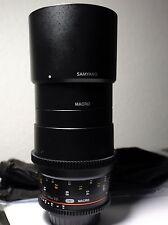 Samyang VDSLR II 100mm T3.1 ED UMC Full Frame Macro Telephoto Cine for Nikon