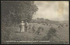 Great Missenden. Harvesting in Beesons Field by J.H.S.,Gt. Missenden.