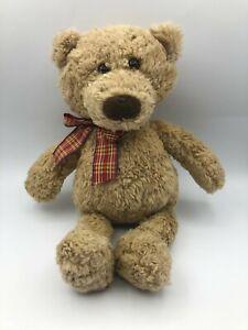 Gotta Getta Gund Clyde 6448 Brown Teddy Bear Bow Tie Plush Stuffed Toy Animal