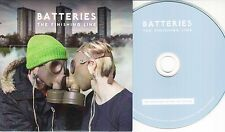 BATTERIES The Finishing Line 2016 UK 12-track promo CD + press release
