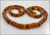 Raw Baltic Amber Necklace 15 inch