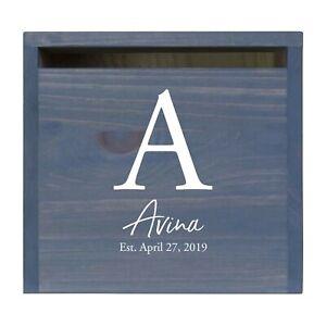 Custom Wedding Wishing Well Card Box For Money Gift Holder - The Avina