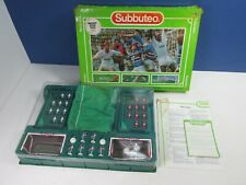 More details for complete vintage subbuteo set 60140 table football game classic retro 4791