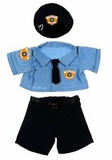 "Teddy Bear POLICE Uniform CLOTHES Fit 14-18"" Build-a-bear !!NEW!! FREE SHIPPING"