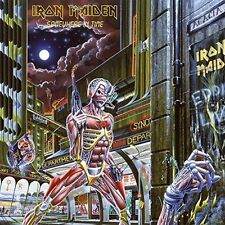 Iron Maiden Metal LP Records