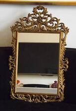 Syroco Burwood Hollywood Regency Rectangular Mirror 31x19 Mid Century Modern
