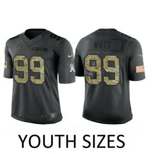 J.J. Watt Houston Texans Nike Youth Boys Salute to Service Jersey