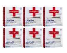 60 Ct Johnson & Johnson Hospital Grade Sterile Gauze Pads L Non-Stick 2 X 2 In