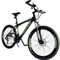 "Mountain Bike 26"" Mag Wheels Front Suspension Bicycle 21-Speed MTB Bikes Green"