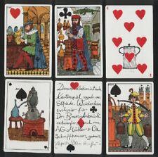 Playing cards. Des Alchimistes, designed by Elfriede Weidenhaus