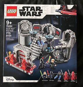 """Lego Star Wars #75291 """"Death Star Final Duel""""  775 pcs New & Sealed 5 mini figs"""